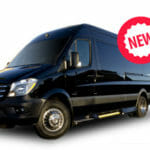 Mercedes Benz Sprinter seating up to 14 passengers