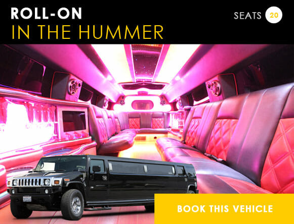 EDC Las Vegas Transportation in a Hummer Limo